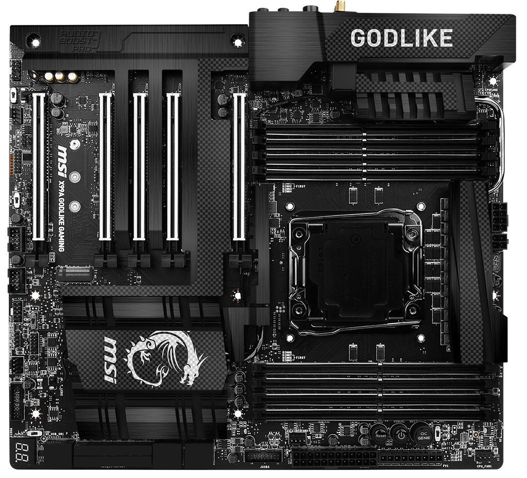 Mainboard MSI X99 Godlike Gaming Carbon