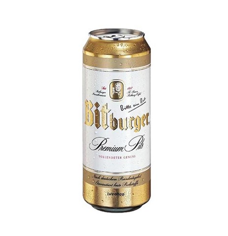 Bia Bitburger Lon 500ml