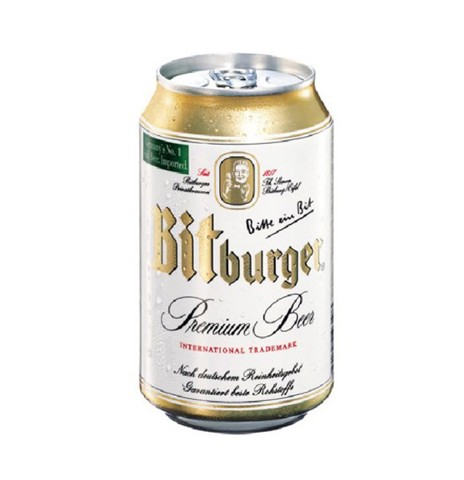 Bia Bitburger Lon 330ml