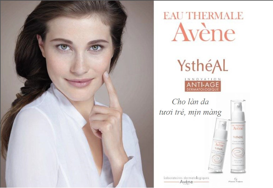 Avène Ystheal Eye & Lip Care Contour 15ml