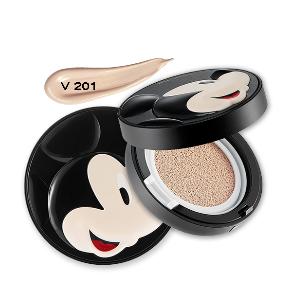 THEFACESHOP POWER PERFECTION BB CUSHION SPF50+ PA+++ V201 (MICKEY) (DISNEY)