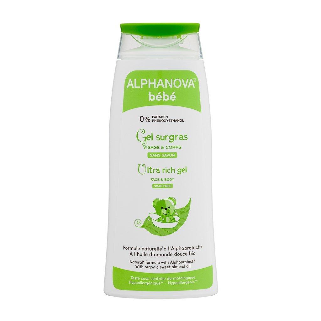 Sữa tắm dưỡng ẩm cho bé Alphanova Bébé 200ml