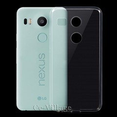 Ốp lưng Google Nexus 5x Silicon dẻo trong suốt loại tốt