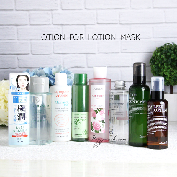 Lotion mask - 3 phút