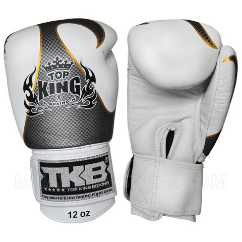 Găng Tay Top King Empower Creativity Boxing Gloves - White/Silver