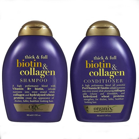 Dầu gội - xả OGX Thick & Full Biotin Collagen 385ml