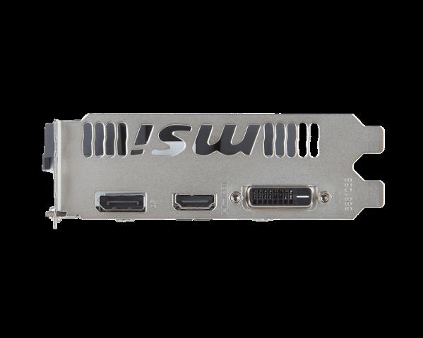 MSI GEFORCE® GTX 1060 3GB OC