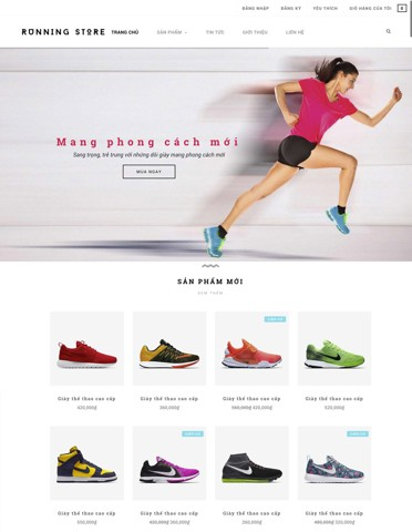 giầy thể thao running store