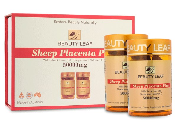 vien uong nhau thai cuu beauty leaf sheep placenta plus 50000mg 04