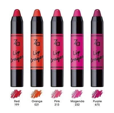 Za Lip Crayon Color
