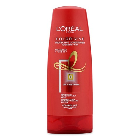 dau xa cho toc nhuom loreal elseve color protect conditioner 325ml