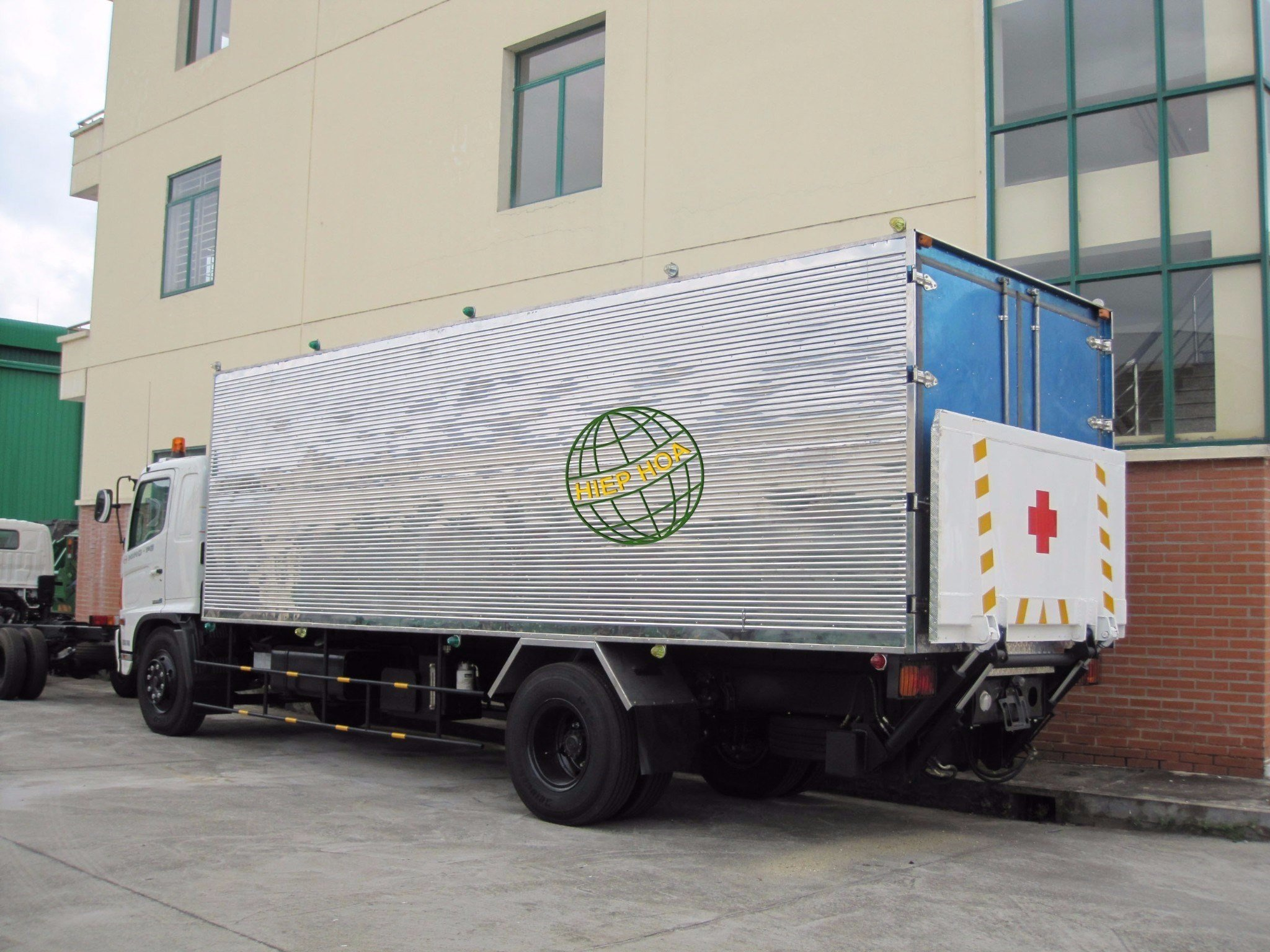Medical Waste Carrying Truck