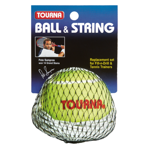 Tourna Ball & String for Tennis Trainers (TT-BS)