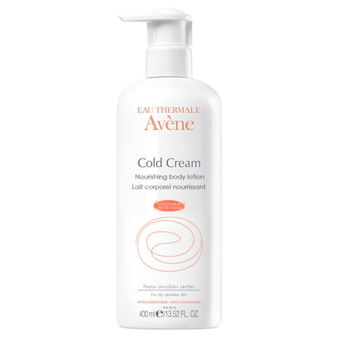 sua duong the cho da nhay cam evene eau thermale avene cold cream nourishing body lotion 200ml