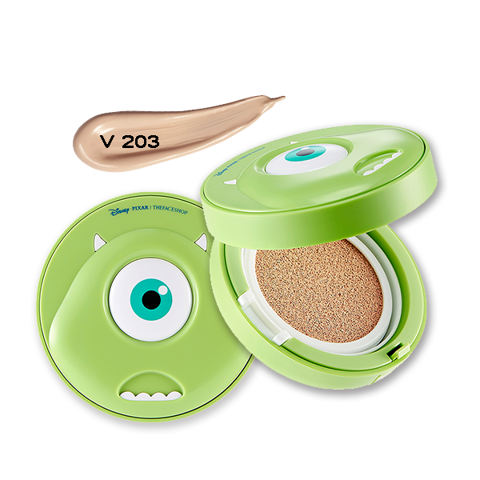 THEFACESHOP CC LONGLASTING CUSHION SPF 50+ PA+++ V203 (MONSTER) (DISNEY)