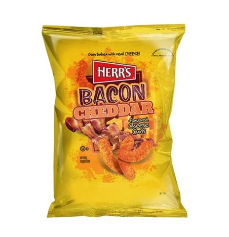 Snack Bắp Bacon Cheddar Cheese Curls Herr'S 198.5Gg