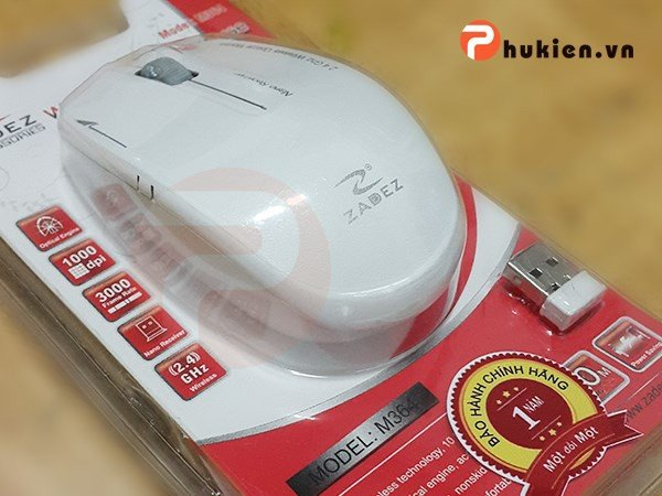 Wireless Mouse Zadez M364