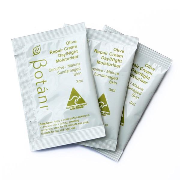 gift kem duong am olive repair cream day & night moisturiser 3ml