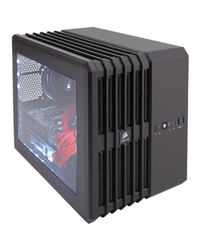 Corsair Air 240 BLACK Carbide Series (Micro-ATX)