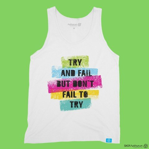 Try & Fail - Tank Top