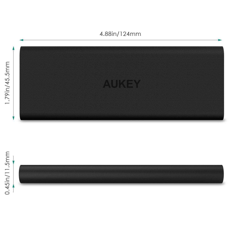 Pin sạc dự phòng Aukey PB-N30, 3600 mAh, công nghệ sạc nhanh AiPower, (kèm cáp Lightning MFI )