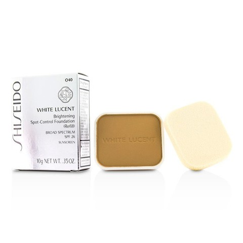loi phan nen shiseido white lucent brightening spot control foundation o40