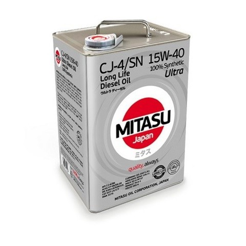 Dầu Mitasu Diesel CI-4 10W-40 4L Made in Japan