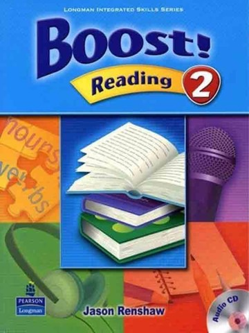 Boost! Reading 2: Student Book with CD