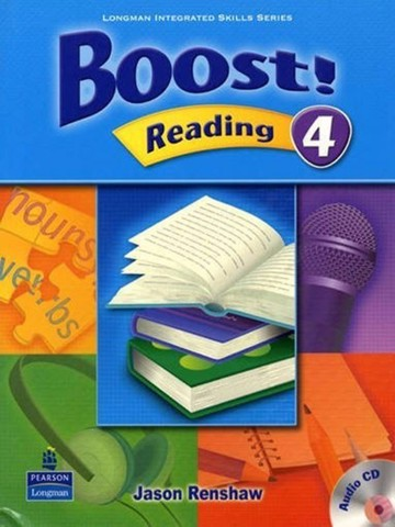 Boost! Reading 4: Student Book with CD