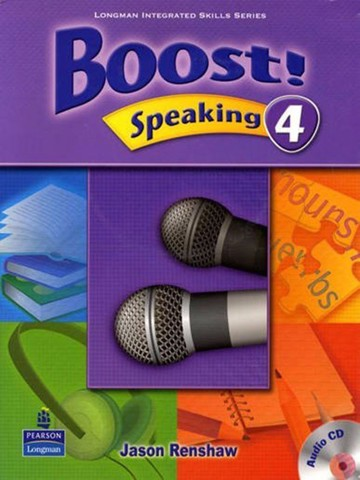 Boost! Speaking 4: Student Book with CD