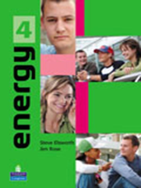 Energy 4: Student Book Plus Vocabulary Notebook