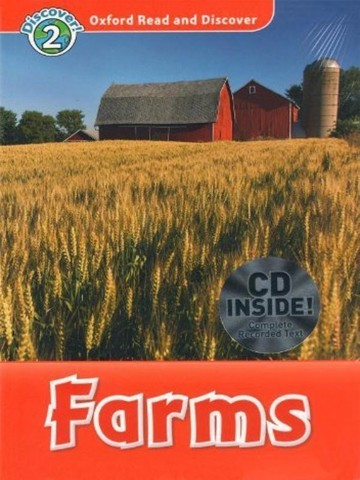Oxford Read and Discover 2: Farms Audio CD Pack