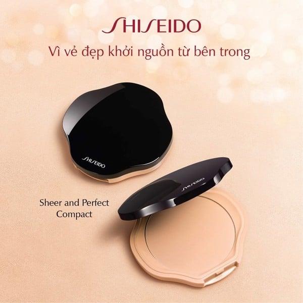 hop phan phu dang nen shiseido sheer and perfect compact case
