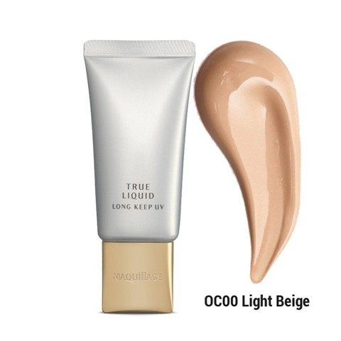 kem nen shiseido maquillage true liquid long keep uv oc00