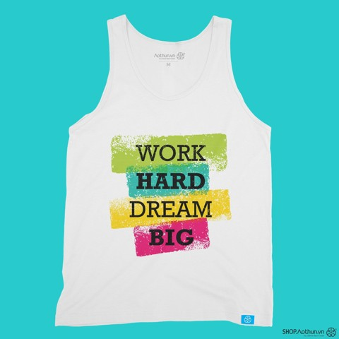 Work Hard - Tank Top