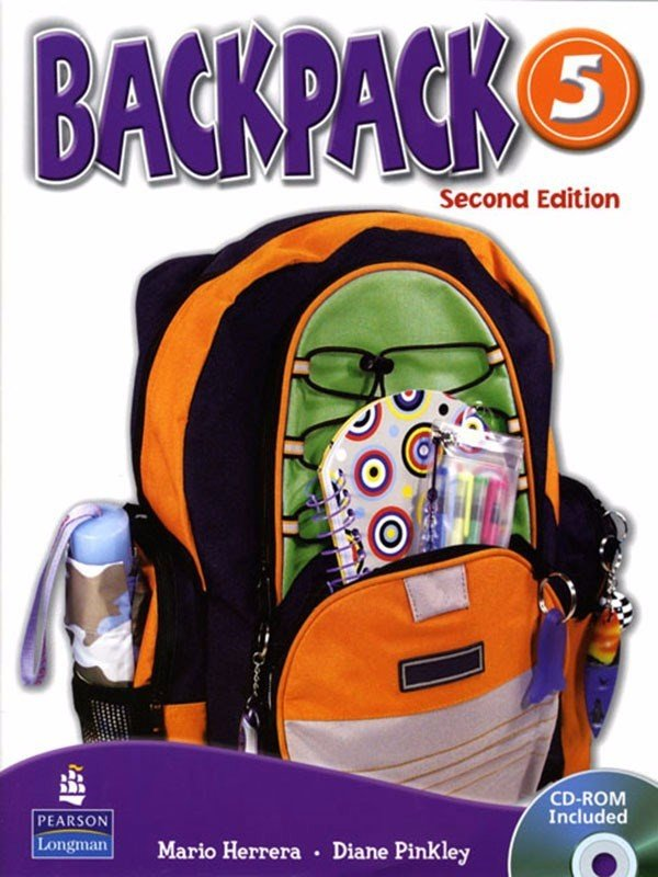 Backpack (2 Ed.) 5: Student Book with CD-Rom