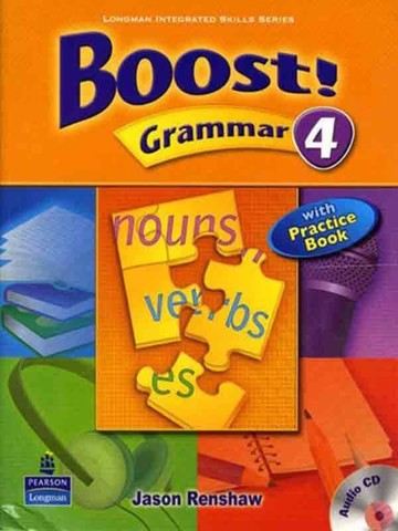 Boost! Grammar 4: Student Book with CD