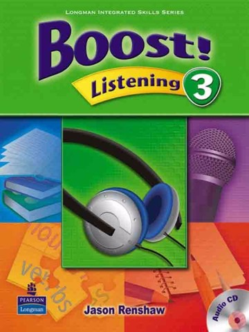 Boost! Listening 3: Student Book with CD