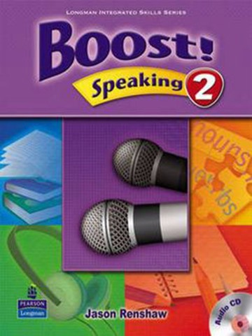 Boost! Speaking 2: Student Book with CD
