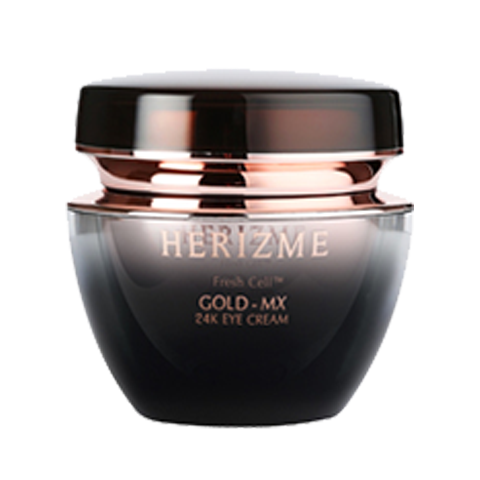 kem duong mat chiet xuat vang 24k herizme gold mx 24k eye cream