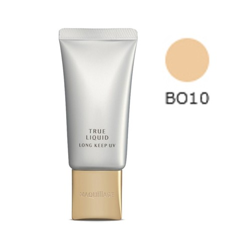 kem nen shiseido maquillage true liquid long keep uv bo10