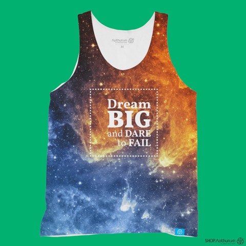 Dream Big Galaxy - Tank Top