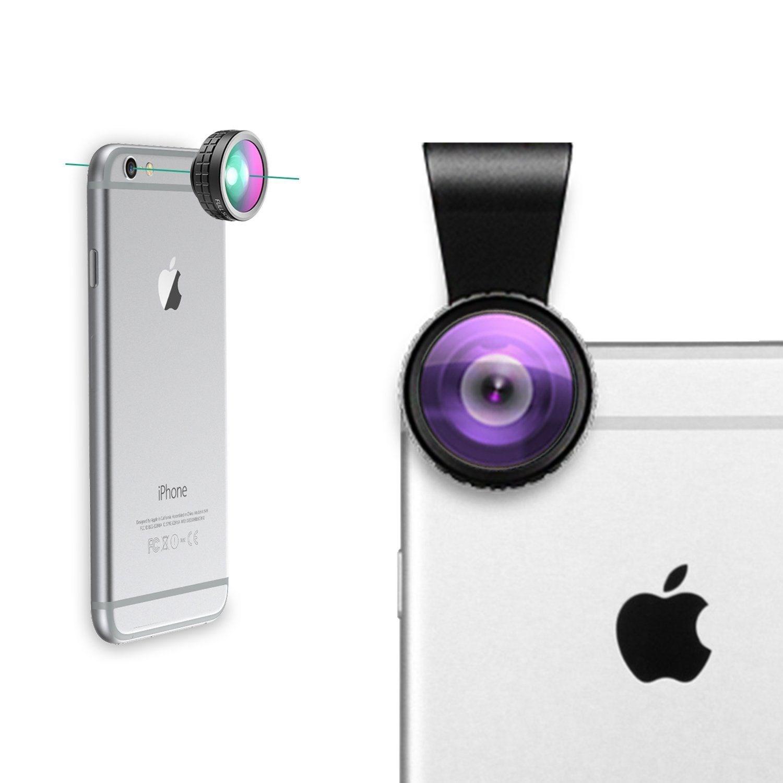 Lens điện thoại AUKEY PL-A1 3 trong 1 ( chụp 180° + chụp góc rộng 110° + chụp cận cảnh 10x )
