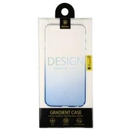 Ốp lưng iPhone 6/6S Baseus Gradient (nhựa TPU cao cấp, trong suốt, đàn hồi, chống va đập)