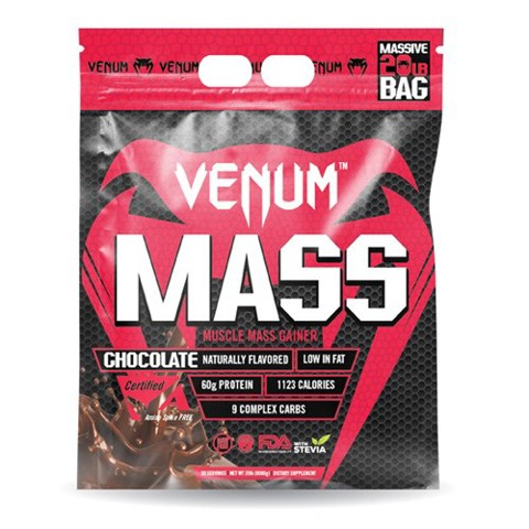 sua tang co tang can venum mass gainer chocolate 907g
