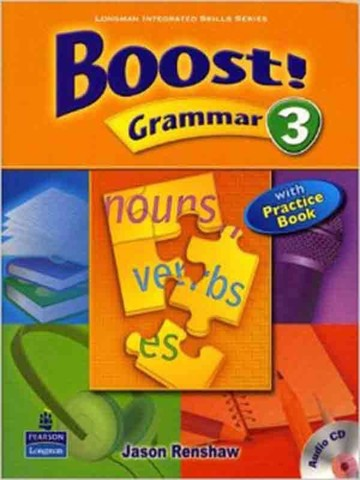 Boost! Grammar 3: Student Book with CD