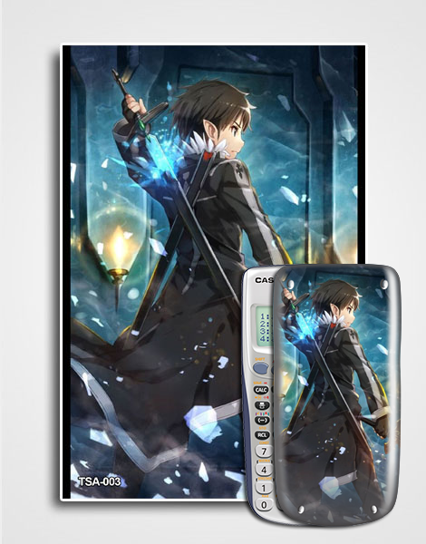Decal máy tính Casio Sword Art Online 003