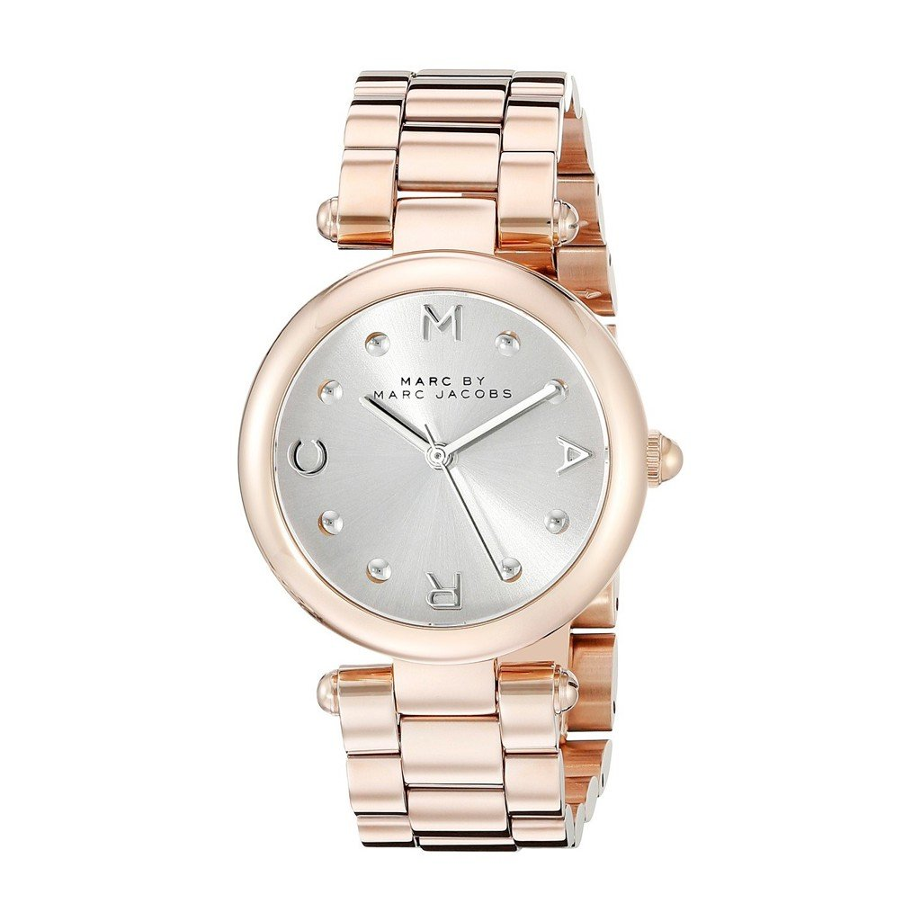 Đồng hồ nữ Marc Jacobs Women's MJ3449 Dotty Rose Gold-Tone Bracelet Watch