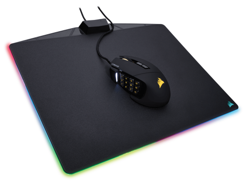 Pad Chuột Corsair MM800 Polaris RGB Cloth Edition Mousepad