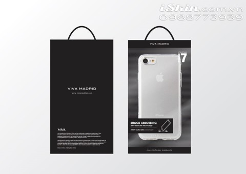 OL IP7 Viva Duro Slim Silicon dẻo trong, chống sốc